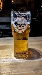Das erste Bier in Norwegen