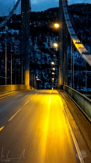 Die Brücke über den Tengelfjord