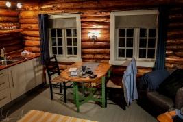 Meine Unterkunft in den Svinøya Rorbuer in Svolvær