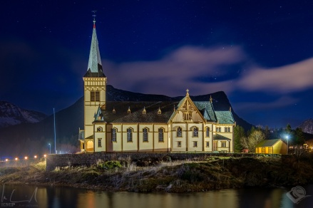 Lofotkatedralen in Kabelvåg