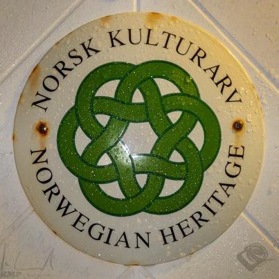 Mein Türschild bei Svinøya Rorbuer in Svolvær