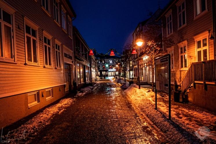 Innenstadt von Harstad